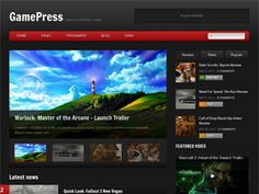 GamePress is a gaming oriented WordPress theme, perfect for game reviews, videos and news or other entertainment related website. It comes in 4 color schemes and it's easy to use and customize.