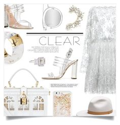 """Clear"" by sonny-m ❤ liked on Polyvore featuring Zuhair Murad, Dolce&Gabbana, Aperlaï, BCBGMAXAZRIA, Alexis Bittar, rag & bone, Fantasia by DeSerio, ban.do, Quay and clear"