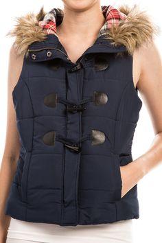 Libby Hooded Vest