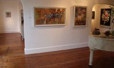 Interior Modern Artists Gallery  Paul Wright Paintings