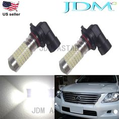 JDM ASTAR 144SMD Extreme Bright H10 9145 2400LM White Car DRL Fog Light LED Bulb #JDMASTAR