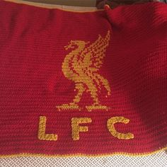 One family member asked me to make this for her niece who is also my god-daughter. The dad is a BIG Liverpool fan! The dad and mom loved it! It is a blanket that will be perfect for her to cuddle up with for years to come. #crochetblanket #liverpool #gifts #specialgiftforaspecialgirl #ilovemygoddaughter by crazythread