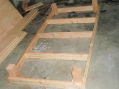 DIY Couch Using Twin Mattress | twin bed frame woodworking plans