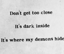 we are all searching for someone whose demons play well - Google Search