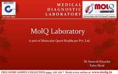 Laboratory Diagnostics | Pathology Lab | Blood Tests | Full Body Check Ups | MolQ by MolQ Diagnotics via slideshare