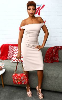 Taraji P. Henson: The Big Picture: Today's Hot Photos Black Celebrities, Celebs, Natural Hair Styles, Short Hair Styles, Taraji P Henson, Look 2018, Haircut For Older Women, Black Girls Hairstyles, Elegant Outfit