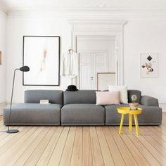 Muuto Connect Sofa 3-Sitzer