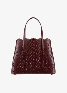 b6044365bd Shop the Alaïa Purple Mina 32 Tote Bag for women. Shop the ID store online