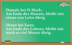 DM vs Euro