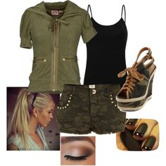 """""""Outdoorsy-Type"""" by taylorwhitebear on Polyvore"""