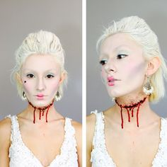Marie Antoinette Makeup Tutorial http://linnstyle.com