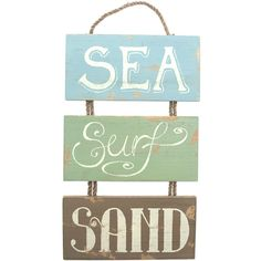 Wholesale Sea surf and sand sign - Something Different