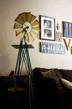 Windmill House decor