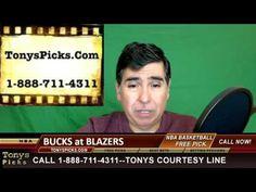 Milwaukee Bucks versus Portland Trailblazers Pick Prediction NBA Odds Pr...