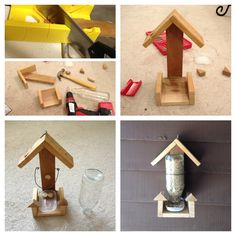 DIY Bird Feeder.