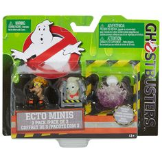Mattel Ghostbusters Ecto Minis Action Figure - 3 Pack (Colors/Styles May Vary)