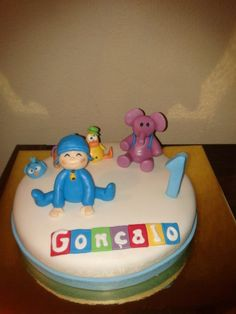 pocoyo cake www.facebook.com/criaideia