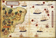 http://www.ensinarhistoriajoelza.com.br/wp-content/uploads/2015/06/12a_mapa-Terra-Brasilis-Lopo-Homen-1519.jpg