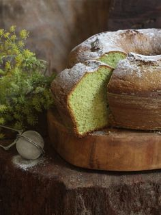 bolo de capim cidreira