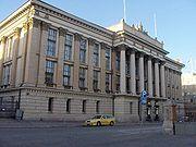 Gustaf Nyströmin suunnittelema Kansallisarkisto. (uusrenessanssi)