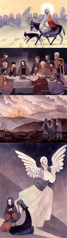 Kissan Kielikello, Jesus and pals