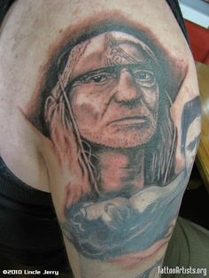 Willie Nelson Tattoo Pin willie nelson tattoo crotch picture on ...