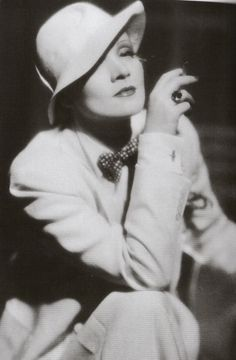 In the early 1930's, Hollywood siren Marlene Dietrich stepped out in style.