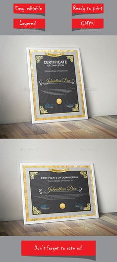 Certificate Template Vector EPS. Download here: http://graphicriver.net/item/certificate/13907430?ref=ksioks