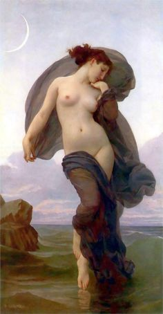 Evening Mood, 1882  William-Adolphe Bouguereau