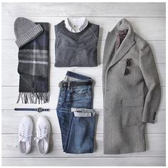 Outfit grid - It's cold outside