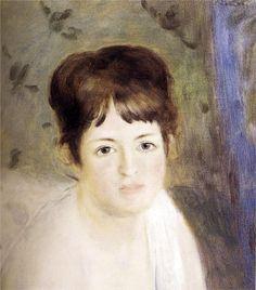 Pierre-Auguste Renoir - Tête de femme
