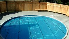 PRESSURE TREATED DECK WITH POOL, HALIFAX | Archadeck Outdoor Living of Nova Scotia Pool Decks, Outdoor Living, Outdoor Decor, Nova Scotia, Spa, Treats, Home Decor, Outdoor Life, Sweet Like Candy