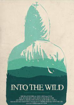 Into the Wild minimalist poster by tillfabriken.deviantart.com on @DeviantArt