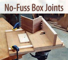 Finger Joint Jig Plans - Joinery Tips, Jigs and Techniques