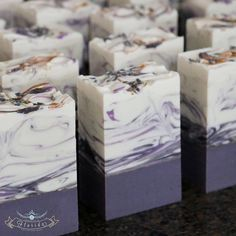 Naturally fragranced with French Lavender essential oil...one of the best I've come across