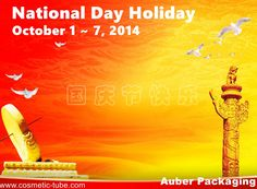 We'll be on National Day Holiday during 1~7 Oct, 2014, and will resume on 8 Oct., 2014.