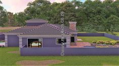 4 Bedroom House Plan – My Building Plans South Africa My Building, Building Plans, 5 Bedroom House Plans, Guest Toilet, Double Garage, Open Plan, Master Suite, South Africa, Mlb