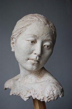 Ruimtelijk portret van klei