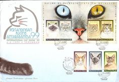 Cats on stamps index