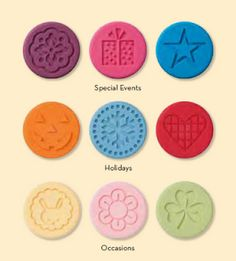 Stampin Up Cookie stamps