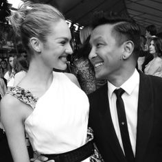 2013 CFDA Fashion Awards: Candice Swanepoel and Prabal Gurung