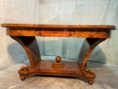 Rare Table in Walnut and Real Briar Art Deco (Extendable 12 - Catawiki Art Deco Furniture, Elegant Dining, Italian Art, Art Deco Design, Crates, Entryway Tables, Dining Table, Iron, Chair