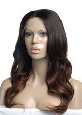 Beautiful Body Wave #2/4 Remy Human Hair Full Lace Wig