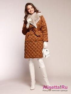Пуховик NAUMI 18 W 719 01 13 Brandy – коричневый Fur Coat, Winter Jackets, Lifestyle, Chic, My Style, Fashion, White Boots, Boots, Winter Coats