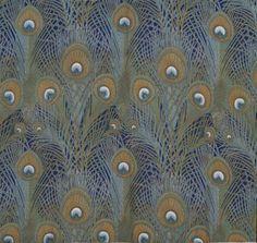 Tecido de decoração Liberty, esta padronagem veio a definir o estilo.