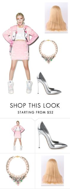 """""""Ai11~"""" by nicki-minaj-257 ❤ liked on Polyvore featuring O-Mighty and Casadei"""
