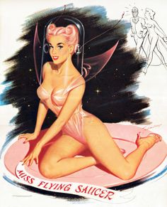 Miss Flying Saucer (by Bill Randall 1959)