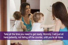 Hilarious Captions by Moms Highlight Absurd Parenting Stock Photos - My Modern Met