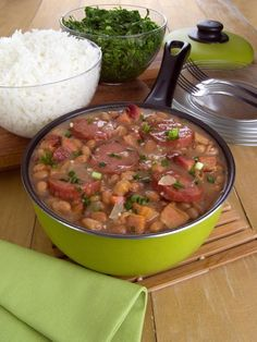 Feijoada Recipe, Easy Lunches For Work, Bean Soup Recipes, Red Rice Recipe, Cooking Recipes, Healthy Recipes, Food Goals, Home Food, Pasta