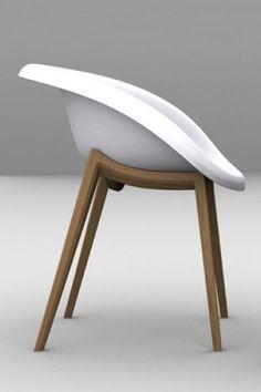 *Curated by #beaubyme  Une très belle ligne. Une coque est une assise rassurante. Une chaise fauteuil qui semble avoir une vraie identité visuelle. Très belle réalisation. Nous allons regarder pour connaître le prix.